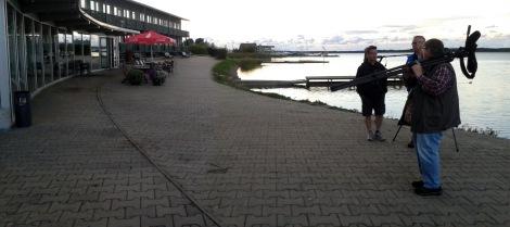 Promenaadi-hotellin takapihalta on hyvät näkymät Tagalahdelle (c) Timo Nuoranen