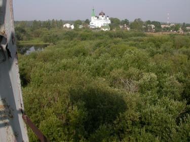 Kuremäen luostari näkyy torniin - (c) Timo Nuoranen