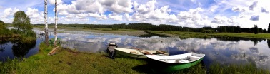 Venerannasta olisi helppo mennä esim. kumiveneellä (c) Timo Nuoranen