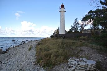 Saxbyn majakka länsiosassa saarta (c) Pentti Selin