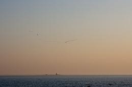 Kerin saari häämöttää horisontissa (c) Raimo Nevalainen