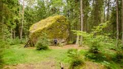 talon kokoinen siirtolohkare (c) Timo Nuoranen